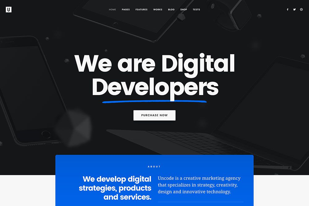 Are You a Creative? Then Uncode WordPress Theme Was Made for You ...